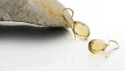 Einhänger mit Citrintropfen Facettenschliff in 750 Gelbgold